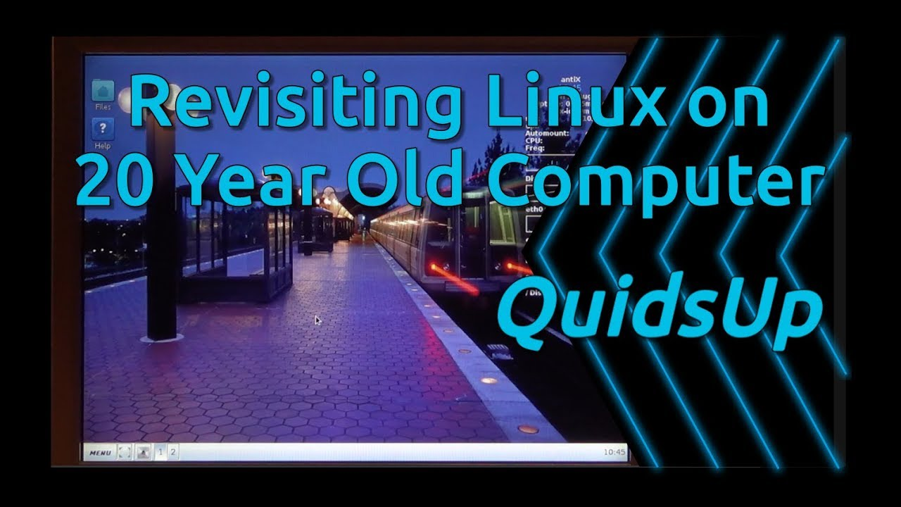 Revisiting Running Linux on a 20 Year Old Computer