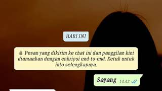 Story WA Cerita Chat Pacar Yang Sibuk