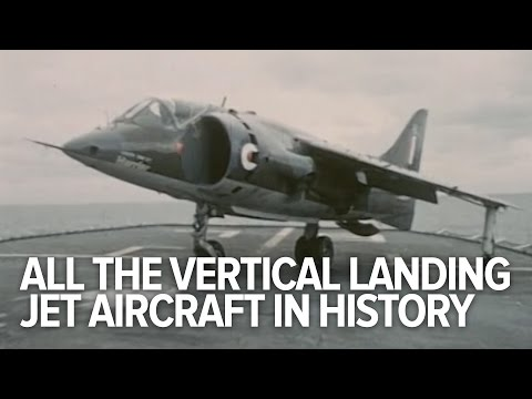 All The Vertical Landing Jet Aircraft In History