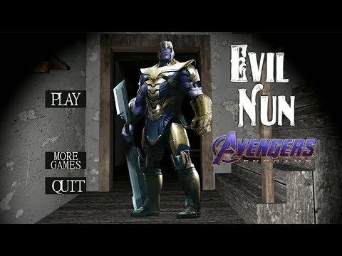 Evil Nun Is THANOS!!! (Granny Horror Game)
