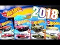 Hot Wheels | Case A 2018 - Lote A 2018