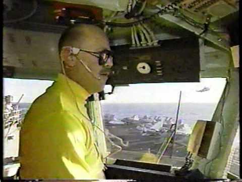 US Navy Battlegroup in Persian Gulf during Iran Iraq War