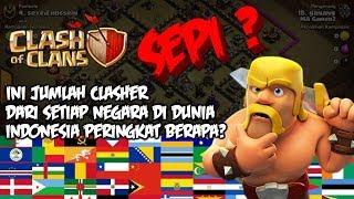 COC SEPI ? Ini Daftar Clasher Dari Setiap Negara Di Dunia - Clash Of Clans Indonesia