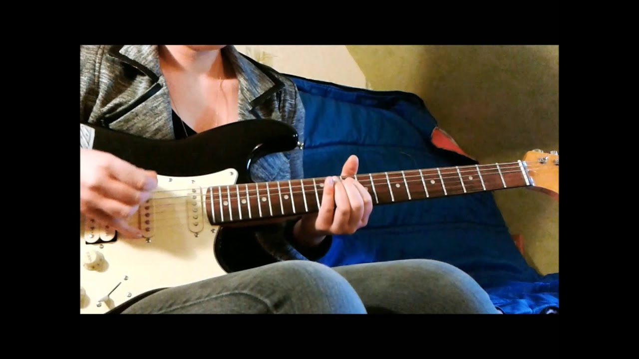 Guitar Cover : Muse - Supermassive Black Hole (with tabs ...