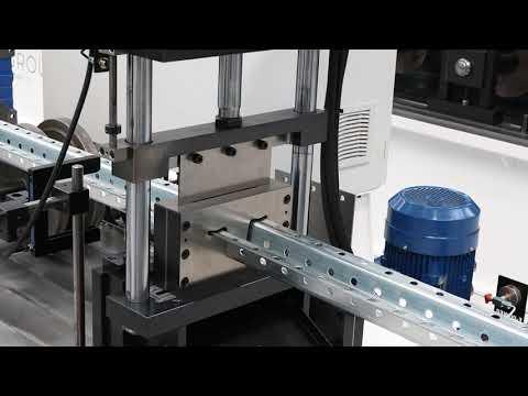Perfiladora omega madres completamente automática VLB Omega profile automatic roll forming line