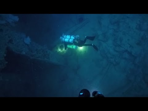 SUCRE WRECK DIVE WITH JOHN CHATTERTON 2016