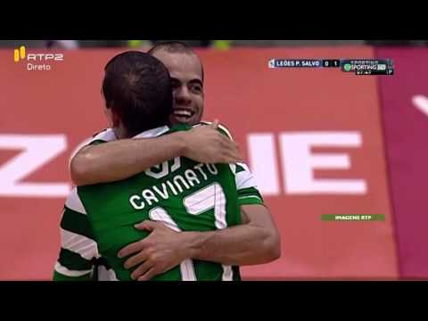 Futsal :: 05J :: Leoes Porto Salvo - 2 x Sporting - 8 de 2015/2016