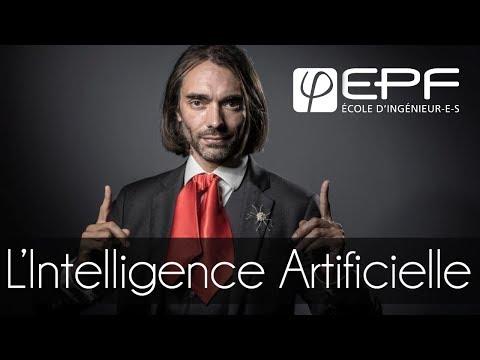 Conférence Cédric Villani - L'Intelligence Artificielle
