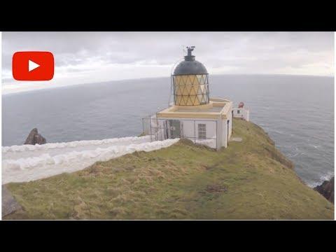 St Abbs Light house & St Abbs Harbour Wild Camp