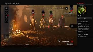 Just a chill night/Dead By Daylight