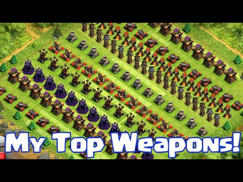 """MY TOP BEST WEAPONS in Clash of Clans"" (Top 5 series)"