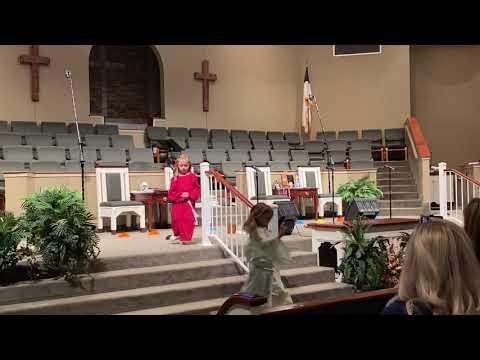 Mount Pisgah Christian Academy kindergarten graduation