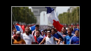 'Eternal happiness' as France celebrates World Cup victory | CBC Sports