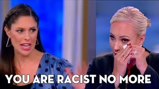 The View's Abby Huntsman SHRED Meghan McCain by She MOCKED  Sanders, Harris, Warren Defend Omar