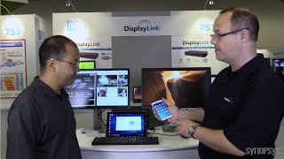 designware usb ip enables flexible displaylink docking stations with usb type c