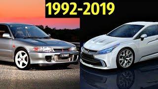 😲 Mitsubishi Lancer EVO (1 - 11) -  Эволюция (1992 - 2019) 😎!
