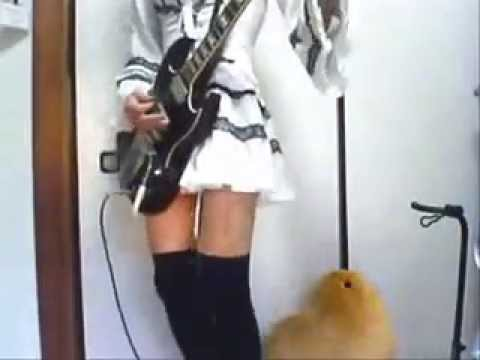 メタル布教活動としてMr  Crowleyのギターを弾いてみた