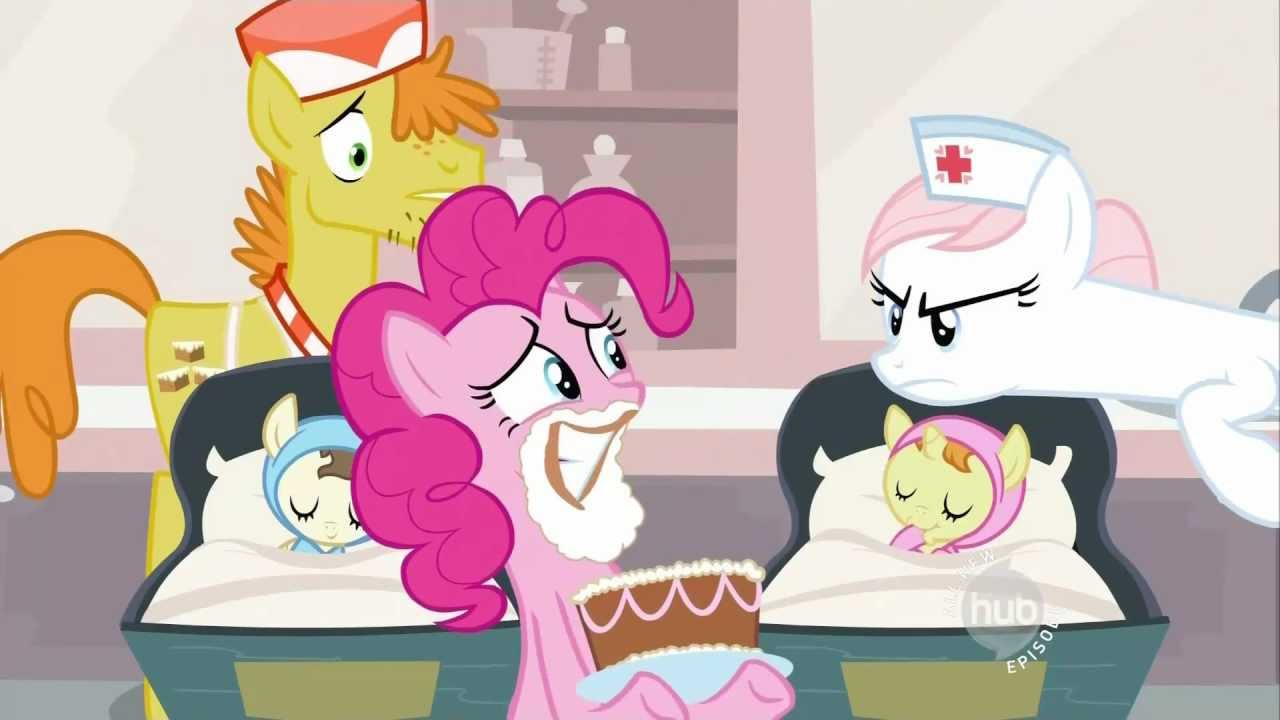 Pinkie Pie Quick Make A Wish And Blow Out Your Candles