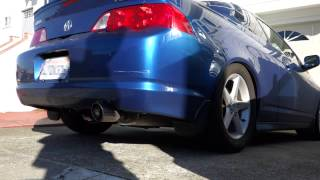 best exhaust for acura rsx