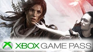 RISE OF THE TOMB RAIDE NA XBOX GAME PASS E DLC DE FINAL FANTASY XV ATÉ 2019