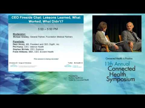2014 Partners HealthCare Connected Health Symposium: CEO Fireside Chat