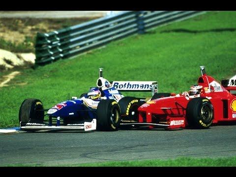 European Gp Jerez Schumacher Villeneuve Crash