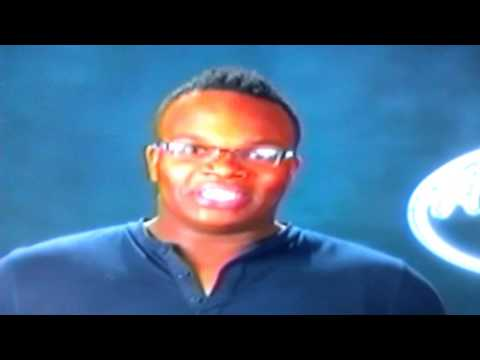 Micah Johnson Idol Contestant with Tonsil Removed Audition #5, S12/Ep05