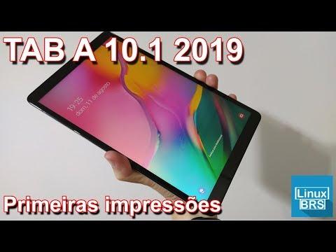 🔘 Samsung Galaxy Tab A 10.1 (2019) - Primeiras Impressões E Unboxing
