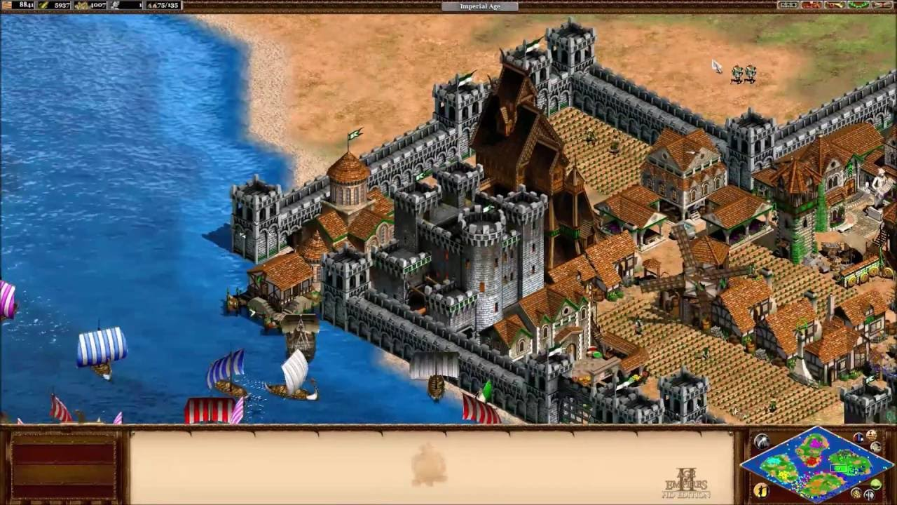 Age Of Empires Ii Viking City Youtube