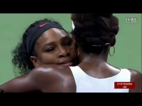 Serena Williams VS Venus Williams Highlight US Open 2015 QF
