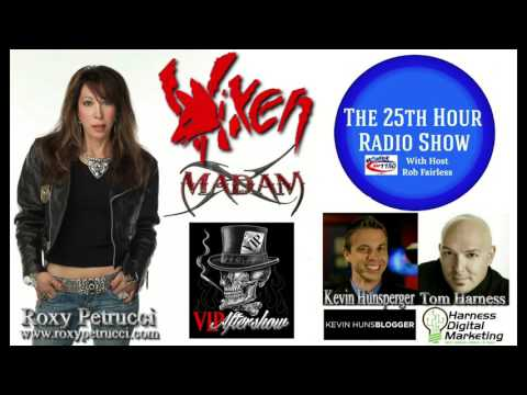 Roxy Petrucci - Professional Drummer - Vixen - Madam X - VIP Aftershow