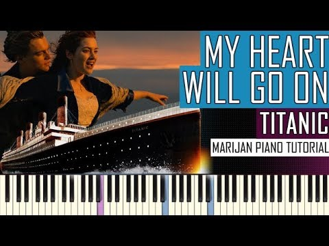 How To Play: Titanic - My Heart Will Go On   Piano Tutorial + Sheets