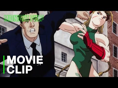 Cammy Owns Security Hd Clip From Street Fighter Ii The