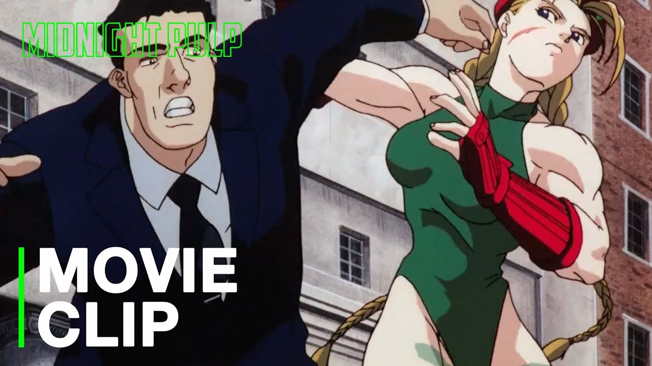 Cammy Owns Security Hd Clip From Street Fighter Ii The Animated Movie Youtube