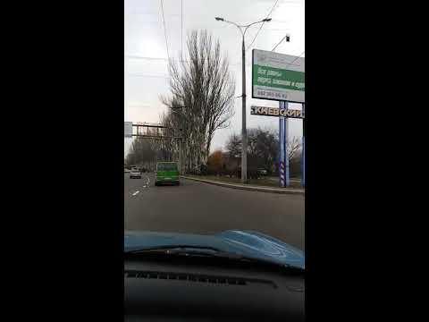 """ДНР, Киевский район Донецка, радио рынок """"Маяк"""" сегодня. Ноябрь 2019 г."""