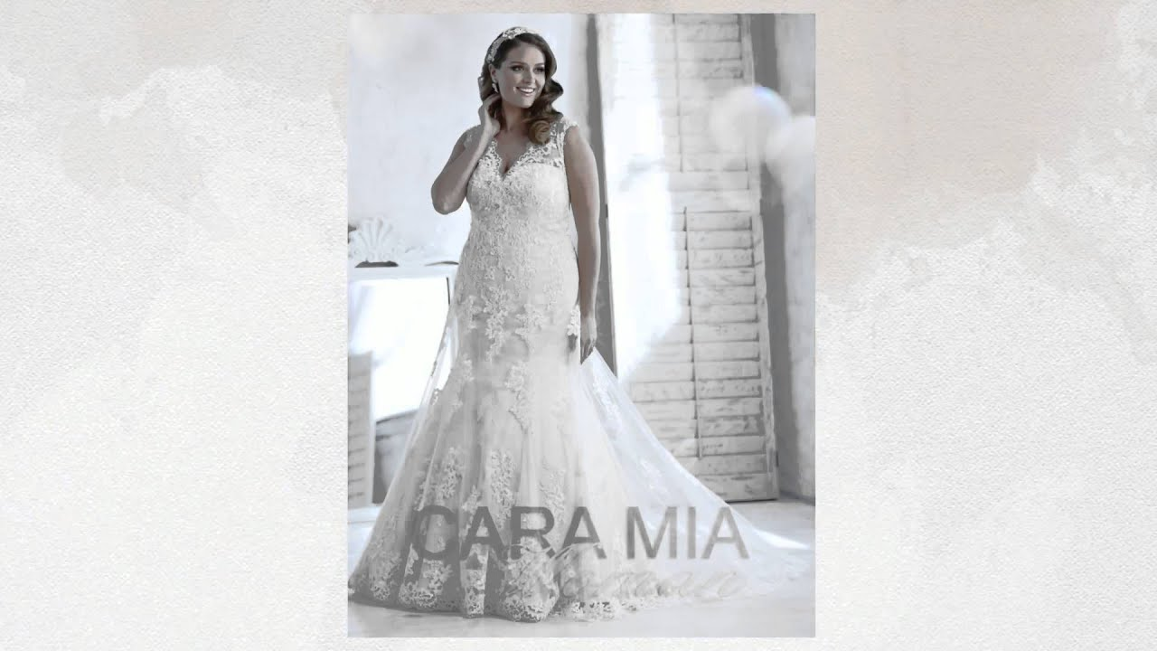 Cara Mia Wedding Dresses Newcastle by A J Bridal Wear Boutique - YouTube