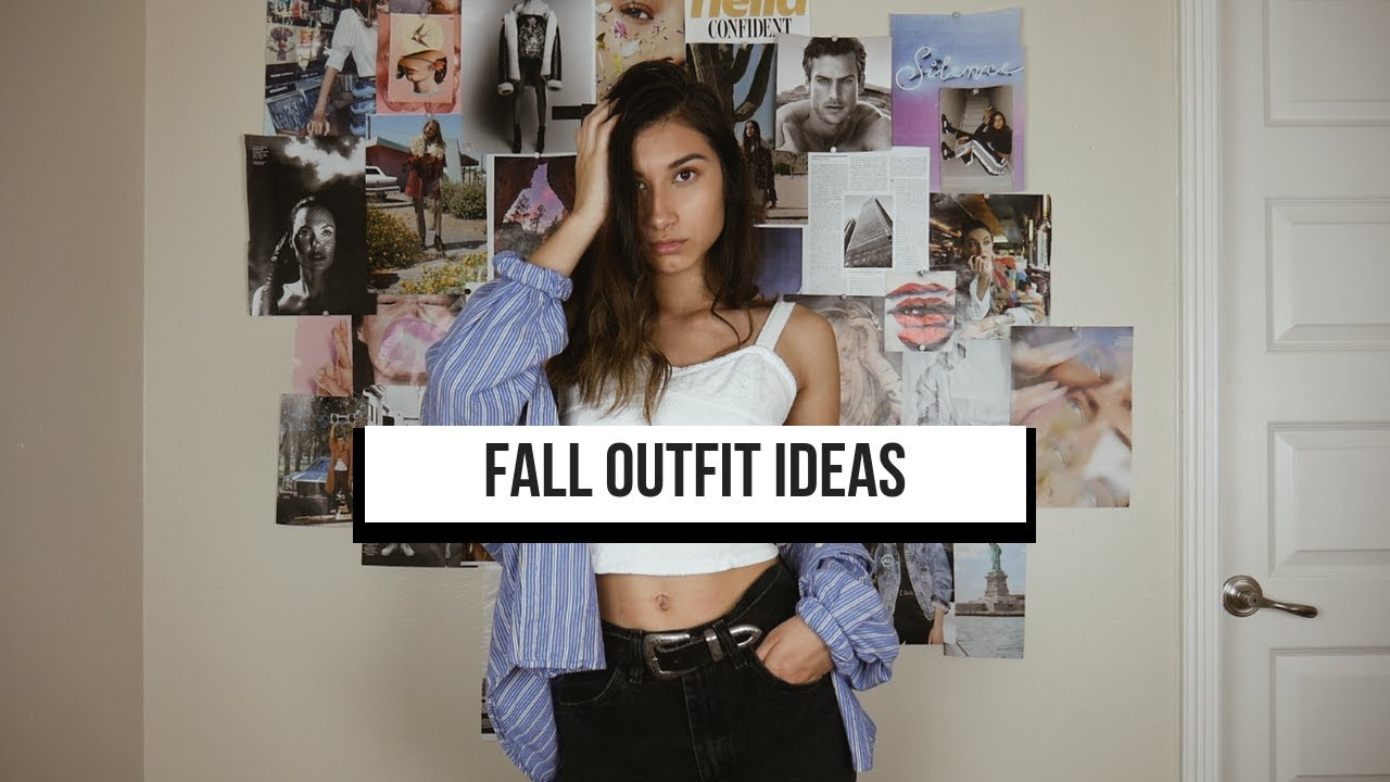 [VIDEO] - FALL OUTFIT IDEAS +  CLOTHING ESSENTIALS (2018) 6