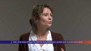 Yvelines | Une liste sans étiquette portée par Stéphanie Jamain aux Clayes-sous-Bois