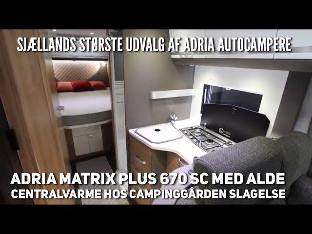 Adria Coral Plus 670 SC hos Campinggården Slagelse