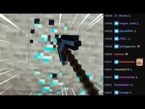 Twitch Chat Helps Me Play Minecraft...