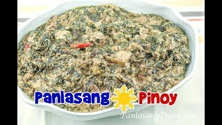How to cook Laing (Laeng) by PanlasangPinoy.Com