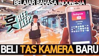 [Korean VLOG] Beli Tas Kamera Baru, Instagram Live!! 카메라 백팩 [SURABAYA, INDONESIA] with a7s, mavic