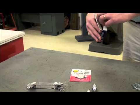 Tech Tip: How to Gap a NGK Spark Plug - YouTube