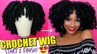 How to Make a Crochet Wig 2018 + 6 Month Update! #WIGWEEK 4