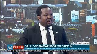 Zim seek help from South Africa