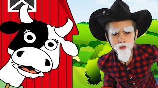 Old MacDonald Had A Farm cartoon Song for Kids at Home Kids Video Nursery Rhymes Song for baby