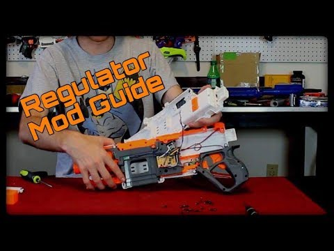 Mod Guide: Nerf Modulus Regulator (Preserving Burst Fire