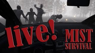 Mist Survival - BUDUJEMY FORTECĘ! #live - Na żywo