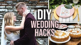 12 DIY Wedding Tips & Hacks! - HGTV Handmade
