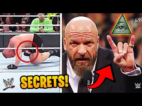 The DARKEST Secrets In WWE Wrestling History!